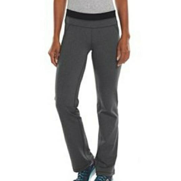 cfb6a259ee162 Tek Gear Shapewear Tight Boot Cut Yoga Small Short.  M 5ae652509cc7ef74d5a5e85a
